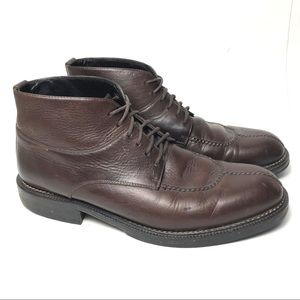 Cole Haan Ankle Boot Brown Leather Lace Up 9